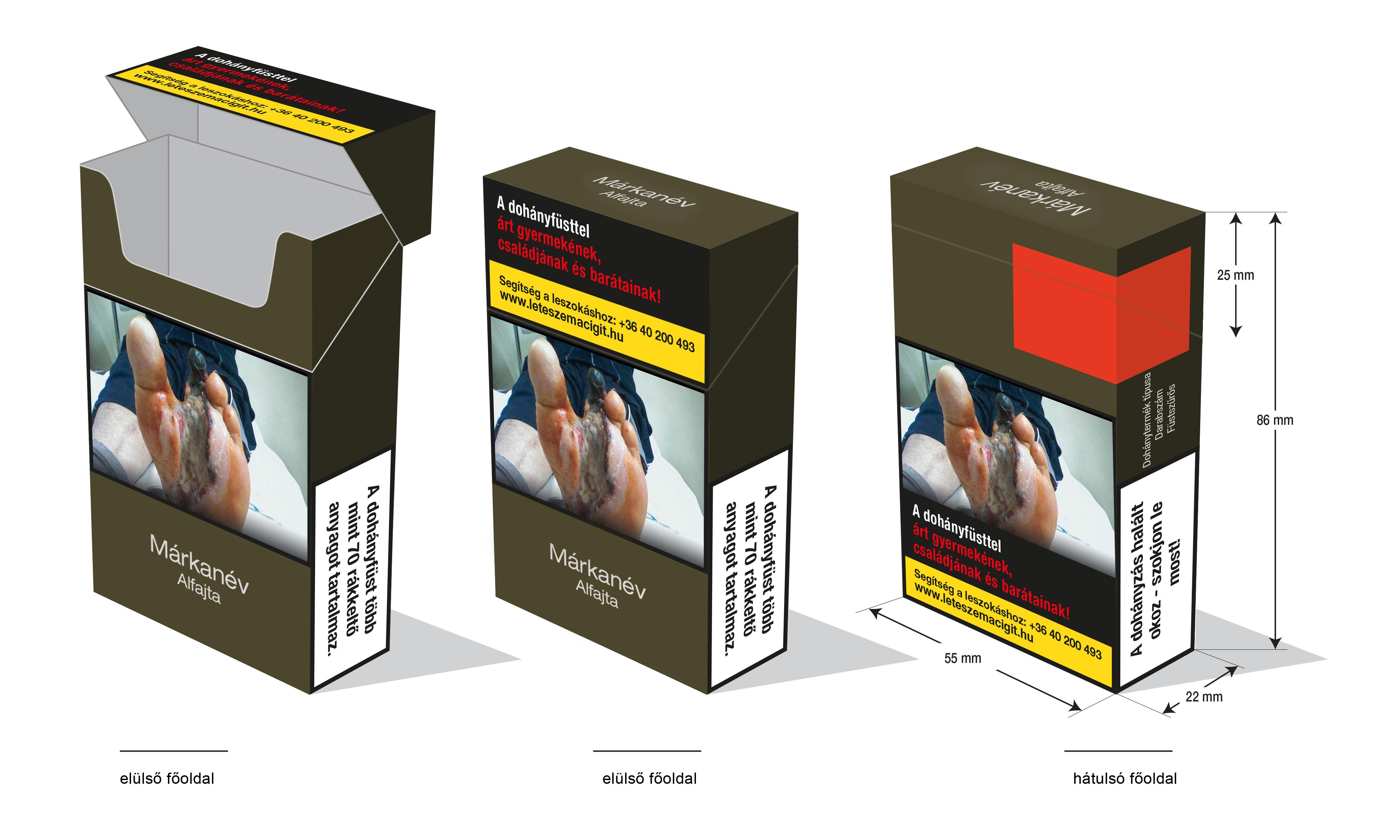 dohányzás-ellenőrzési terv